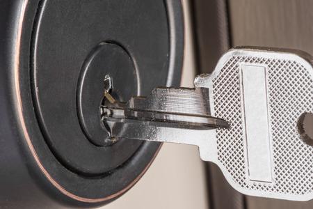 lock and key: Key in Lock