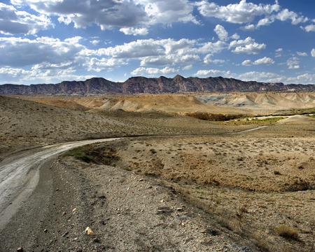 cottonwood canyon: A dirt road (Cottonwood Canyon Rd.) going through Grand Staircase-Escalante National Monument, Utah, United States