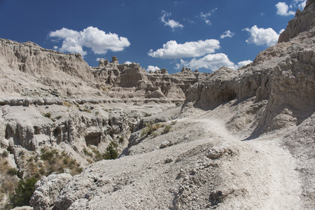 notch: View from the Notch Trail in Badlands National Park, South Dakota, USA.