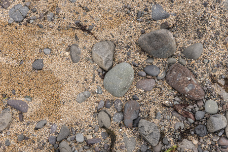 Rocks and Sand Texture, taken at Ytri Tunga, Iceland