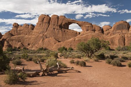 Skyline Arch in Arches National Park, Utah, USA