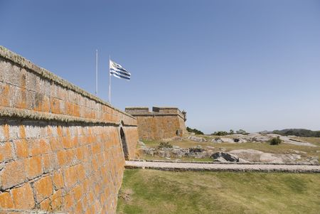 Detail of Forte Santa Teresa, Chuy, Uruguay.