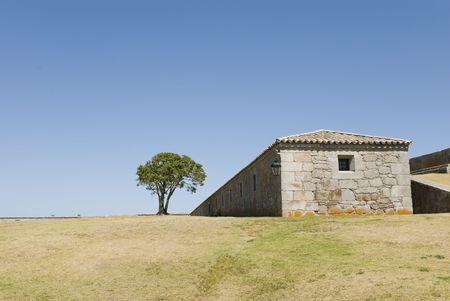 forte: Detail of Forte Santa Teresa, Chuy, Uruguay.