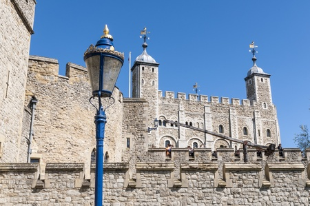 Details of the Tower of London, UK, a fortress dating back to the 1070s. Stock Photo - 13446533