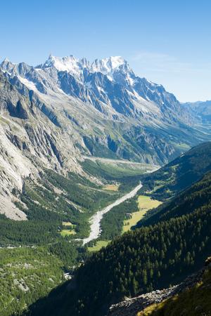 veny: Val Veny valley in Val d