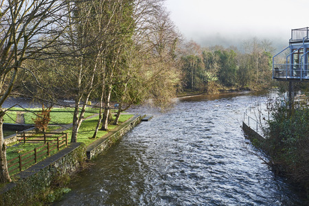 geological feature: The Meeting of the Waters, County Wicklow, Ireland, marks the spot where River Avonmore and Avonbeg join.