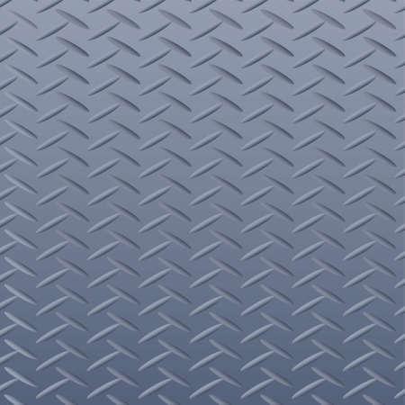 Metallic silver background with diamond pattern 矢量图像