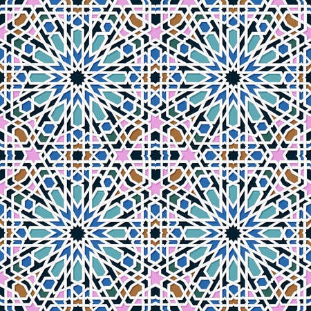 Muslims pattern background. Vector Illustration.