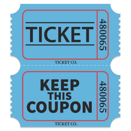 Ticket admit. Keep this coupon. Admit ticket icons.