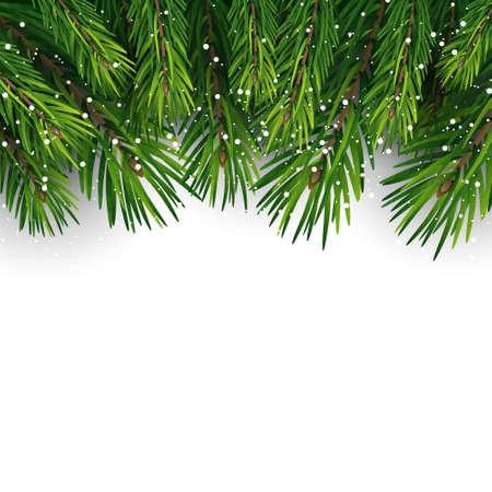Ð¡hristmas tree. Christmas decoration. Snowflakes.