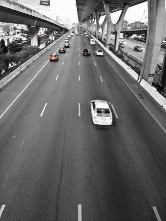 city road: city road Stock Photo