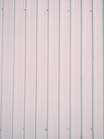 metal sheet: metal sheet wall Stock Photo
