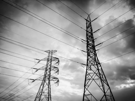 electricidad: poste de electricidad
