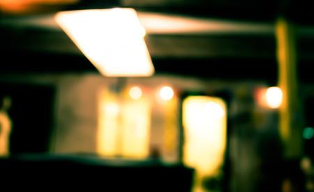 blurry: Blurry light line on night background Stock Photo