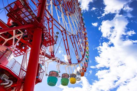 Ferris Wheel at Palette Town (Mega Web) Odaiba Tokyo Japan
