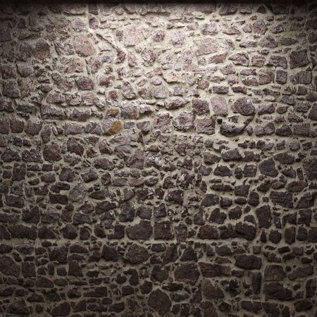 illuminated stone wall Stock Photo - 6269427