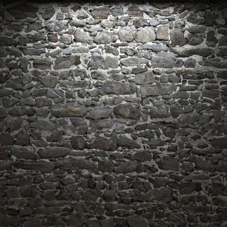 illuminated stone wall Stock Photo - 6269431