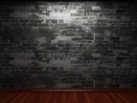 illuminated brick wall Stock Photo - 6369664