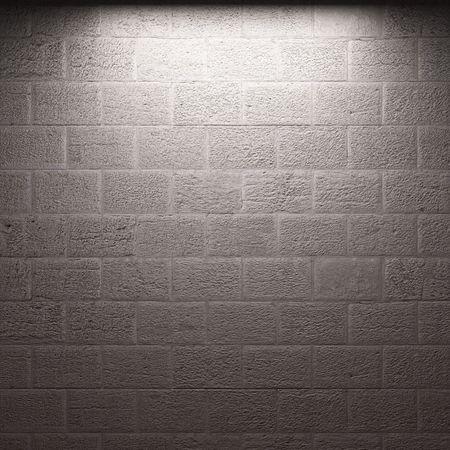 illuminated brick wall Stock Photo - 6369666