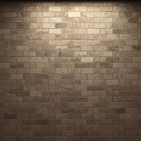 illuminated brick wall  photo