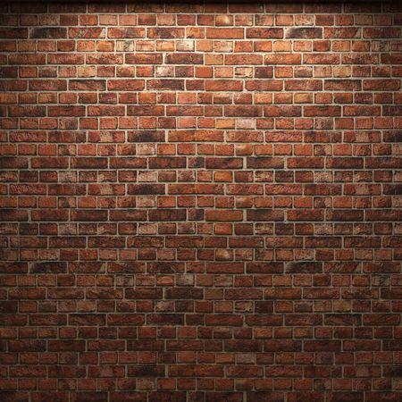 illuminated brick wall Stock Photo - 6421690