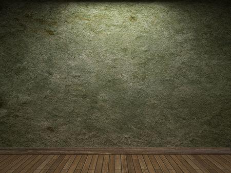 muro rotto: vecchio muro di calcestruzzo