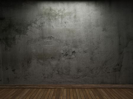 old concrete wall  Stock Photo - 6514458