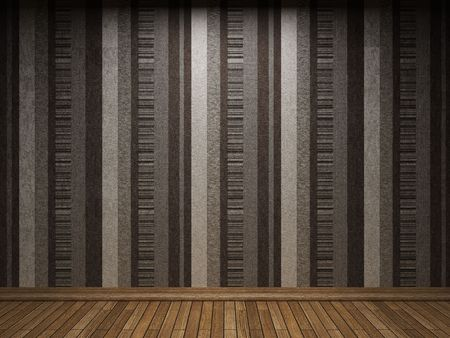 illuminated fabric wallpaper made in 3D graphics Stock Photo - 6654045