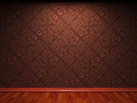 illuminated fabric wallpaper made in 3D graphics Stock Photo - 6654035