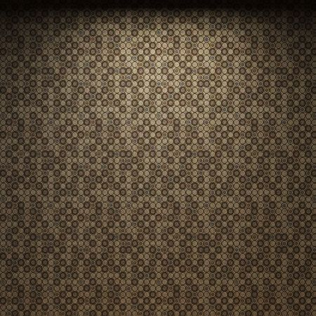 dirty room: illuminated fabric wallpaper made in 3D graphics