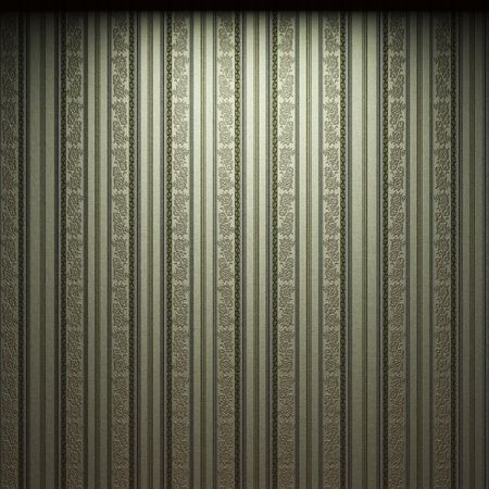 illuminated fabric wallpaper made in 3D graphics photo