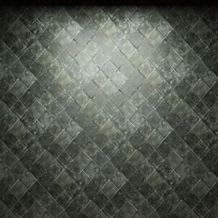 illuminated tile wall Stock Photo - 6692875