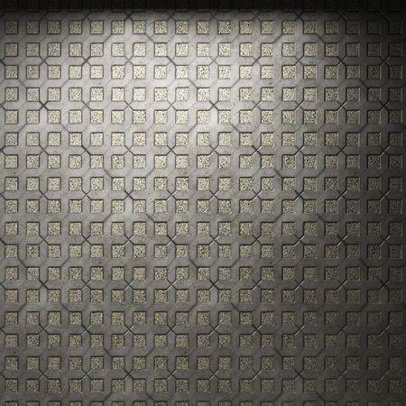 pared iluminada de azulejos y baldosas  Foto de archivo - 6693026