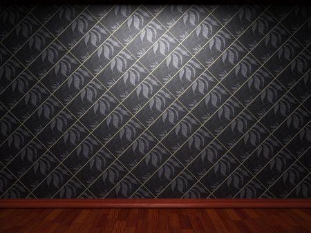 illuminated tile wall Stock Photo - 6692865