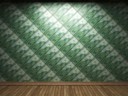 illuminated tile wall Stock Photo - 6693006