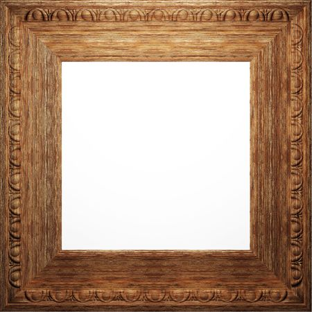 wooden antique frame Stock Photo - 6759121