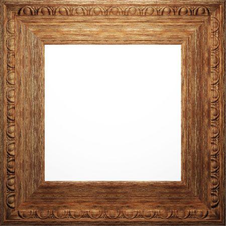 wooden antique frame  photo