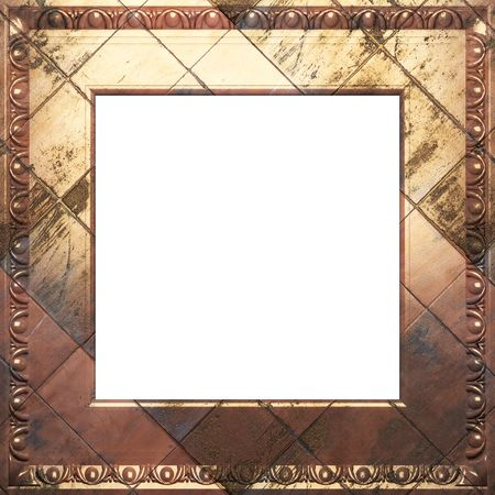 metal antique frame  Stock Photo - 6759115