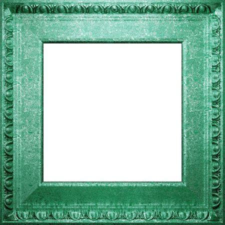 metal antique frame  photo