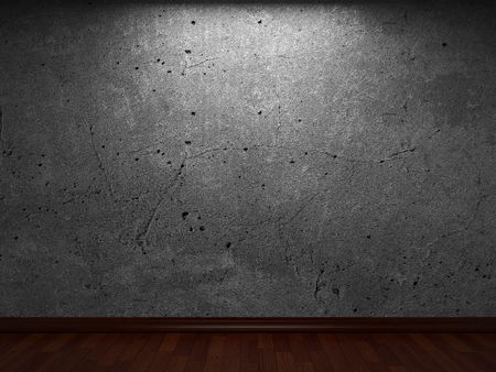 old concrete wall  Stock Photo - 6759259
