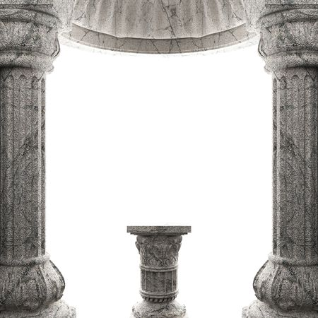 stone column  Stock Photo - 6832380