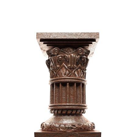 bronze column Stock Photo - 6832384
