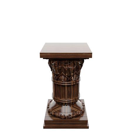 wooden  column  photo