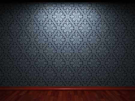 aged paper: illuminated fabric wallpaper