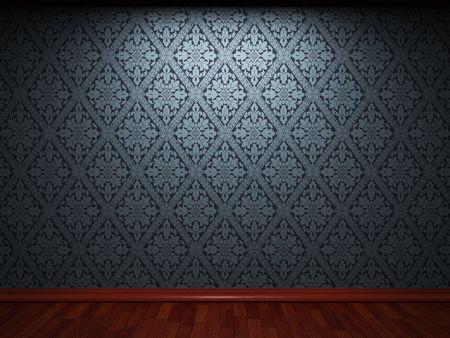 illuminated: illuminated fabric wallpaper