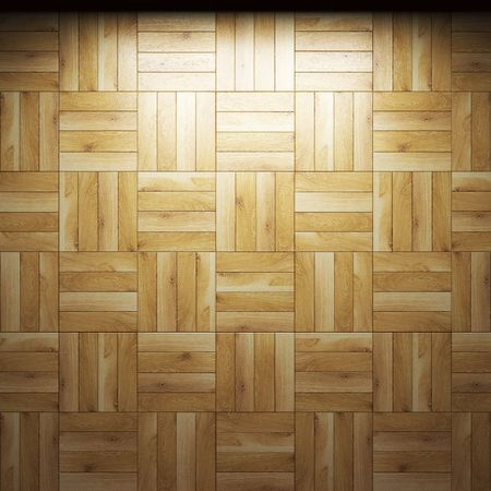 illuminated wooden wall  Stock Photo - 6832583
