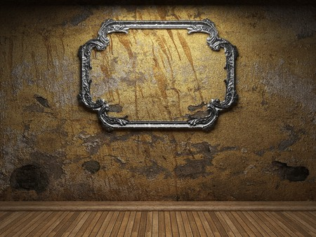old concrete wall and frame Stock Photo - 6871419