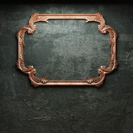 old concrete wall and frame Stock Photo - 6871376
