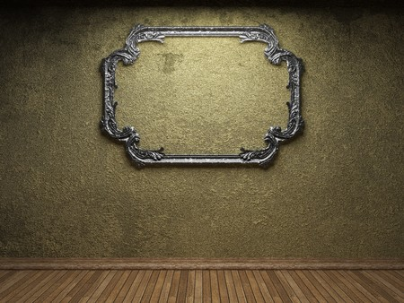 old concrete wall and frame  Stock Photo - 6871428