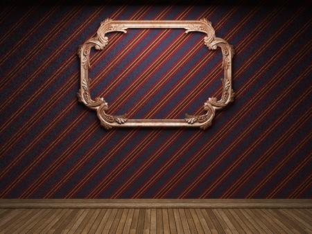 illuminated fabric wall and frame Stock Photo - 7035728
